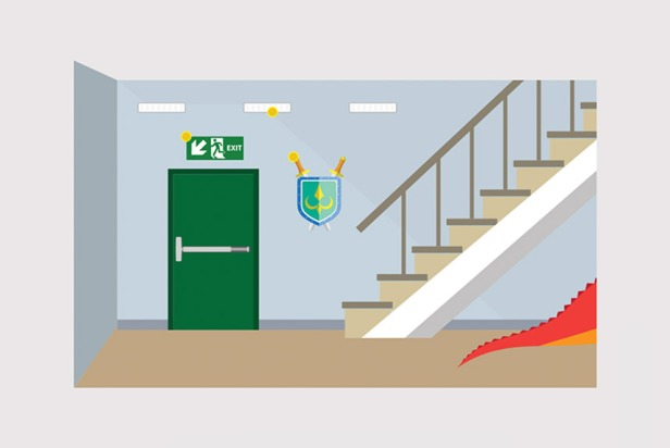 Staircase Fire Safety